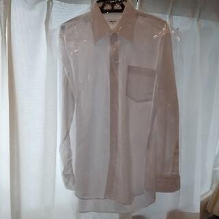 コムサイズム(COMME CA ISM)のコムサイズム ワイシャツ 長袖 白 メンズ S(シャツ)