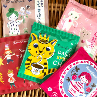 カレルチャペック ☆ 人気の紅茶 5Pセット ⑥
