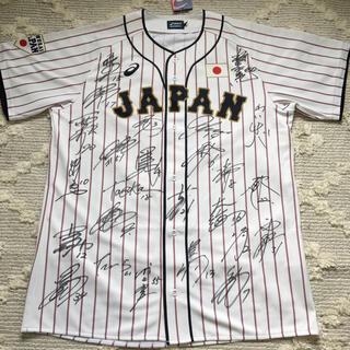 asics - 東京オリンピック野球日本代表 侍ジャパンHレプリカユニフォームO フルサイン入り