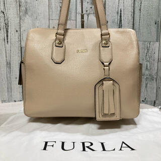 Furla - 新品・未使用 FURLA フルラ ハンドバッグ レザー ベージュ