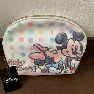 Disney - ミッキー&ミニーポーチ