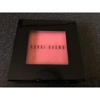 ボビイブラウン(BOBBI BROWN)のBOBBI BLOWN シマーブラッシュ  チーク コーラル 3 (チーク)