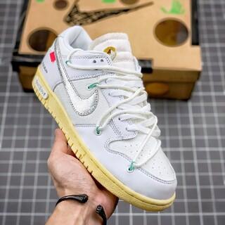 """Óff ⓌhitË Nike SB Dunk Low""""The 50""""Lot21(スニーカー)"""