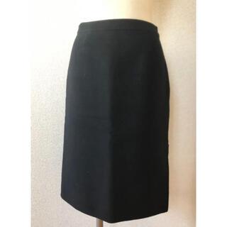 Harrods - ハロッズ  Harrods カシミヤ100%黒スカート