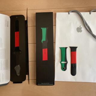 Apple Watch - Apple Watchバンド■Black Unity■44mm■Lサイズは極美品