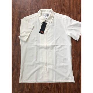 ワイスリー(Y-3)の新品 Y-3 白シャツ ホワイト 半袖シャツ(シャツ)
