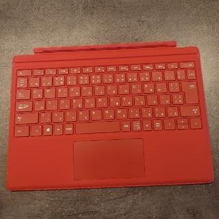 マイクロソフト(Microsoft)のMicrosoft Surface type cover 1725 Red(PC周辺機器)