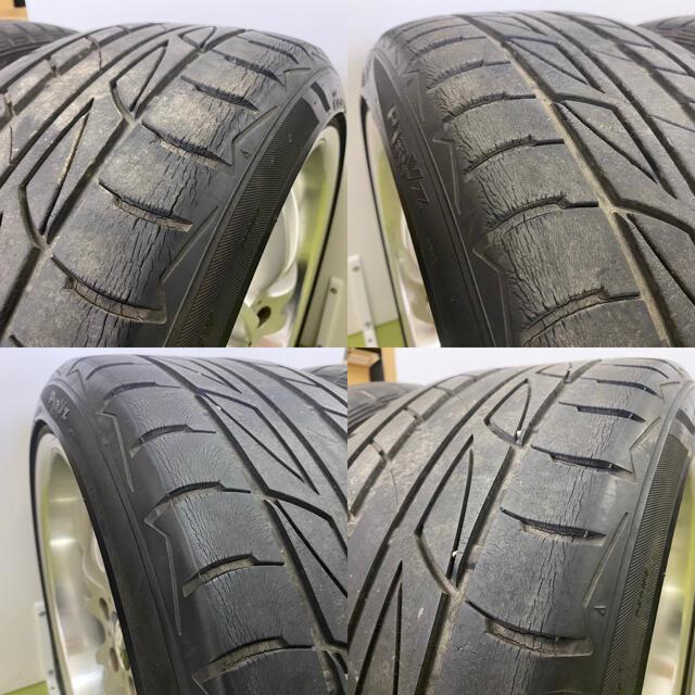 BRIDGESTONE(ブリヂストン)のBSタイヤ付アルミホイールVERTEC VRS 4本セット 自動車/バイクの自動車(タイヤ・ホイールセット)の商品写真