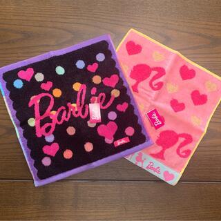 バービー(Barbie)のBarbie ハンドタオル 2枚セット ギフト(その他)