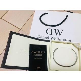 ダニエルウェリントン(Daniel Wellington)の(箱付き)DWダニエルウェリントンバングルシルバーL (ブレスレット/バングル)