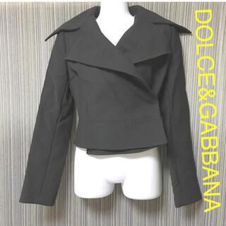 ドルチェアンドガッバーナ(DOLCE&GABBANA)のドルチェ&ガッバーナ ジャケット アウター ショートコート ブルゾン ブラック(ブルゾン)