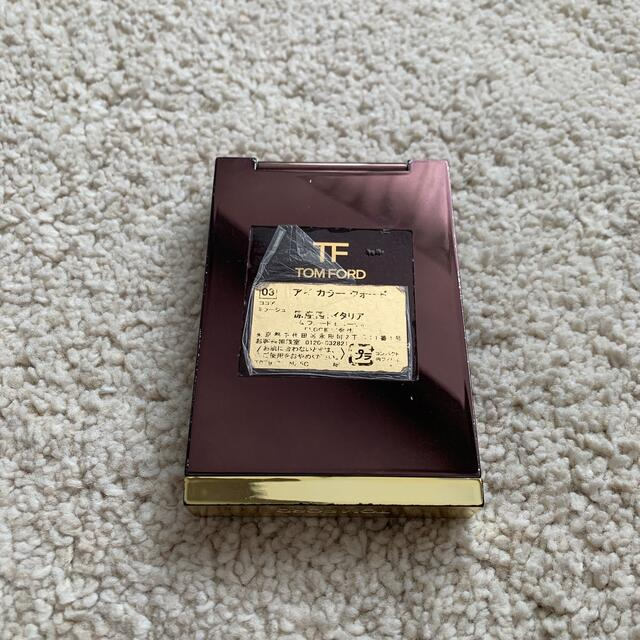 TOM FORD(トムフォード)のトムフォード アイカラークォード 03 ココアミラージュ アイシャドウ コスメ/美容のベースメイク/化粧品(アイシャドウ)の商品写真