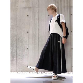 adidas - adidas マストハブ ロングスカート ブラック M