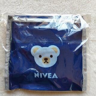 新品未使用 超軽量 NIVEA エコバッグ ニベアブルー色(エコバッグ)