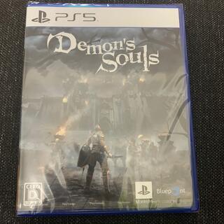 プレイステーション(PlayStation)のデモンズソウル ps5  新品未使用 Demon's Souls (家庭用ゲームソフト)