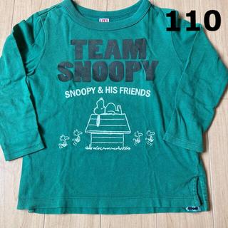 ユニクロ(UNIQLO)のユニクロ スヌーピー長袖Tシャツ 110(Tシャツ/カットソー)