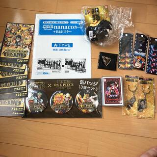 ワンピース  FILM GOLD グッズセット(その他)