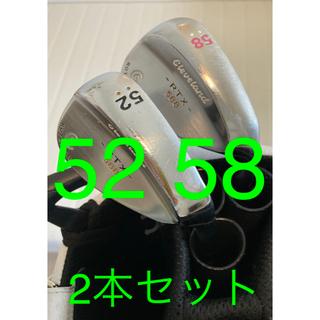 クリーブランドゴルフ(Cleveland Golf)のクリーブランド ウェッジ RTX 588【52度 58度2本セット】(クラブ)