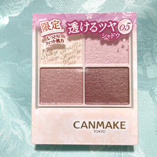 CANMAKE - 限定色 CANMAKE キャンメイク シルキースフレアイズ05