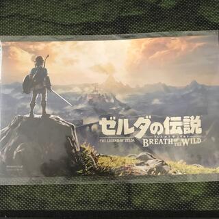 ニンテンドウ(任天堂)のゼルダの伝説botw ステッカー(携帯用ゲームソフト)