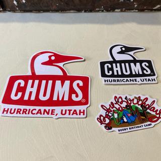 チャムス(CHUMS)のCHUMS Sticker set ⬜︎ #cs103(その他)