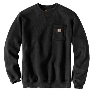 カーハート(carhartt)のカーハート ポケット スウェット シャツ 黒 M *新品 *訳あり(Tシャツ/カットソー(半袖/袖なし))