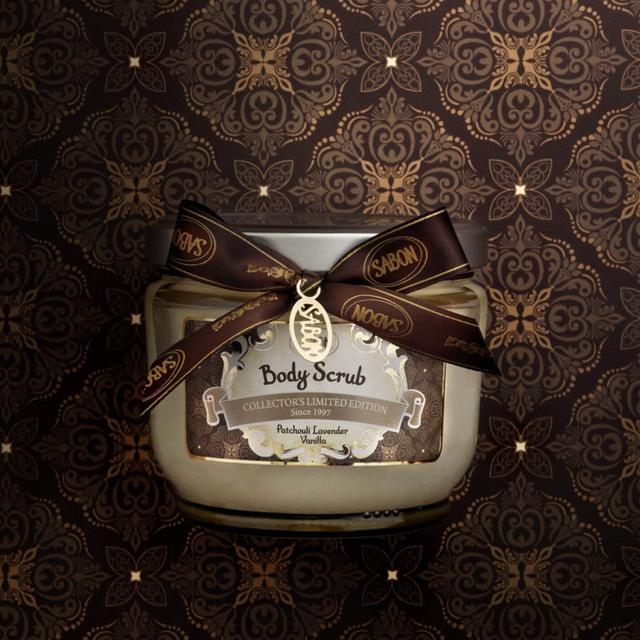SABON(サボン)のSABON パチュリ・ラベンダー・バニラ コスメ/美容のボディケア(ボディスクラブ)の商品写真