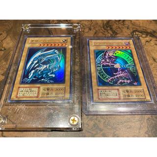 遊戯王 - 遊戯王 ブルーアイズ ブラックマジシャン 豪華初期ウルトラレアセット 良品
