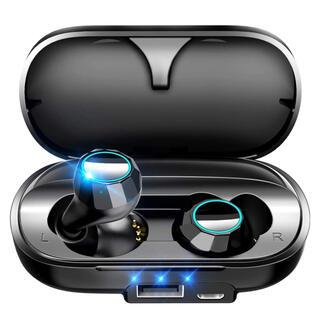 【Bluetooth5.0 】 ワイヤレス イヤホン 防水 3D ブルートゥース