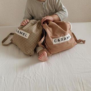 Caramel baby&child  - caramelbaby&chid ナップサック リュック  キャラメル
