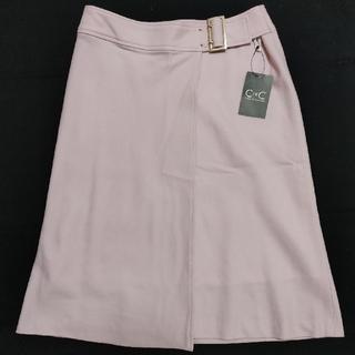クードシャンス(COUP DE CHANCE)のCdeCスカート サイズ38(ひざ丈スカート)