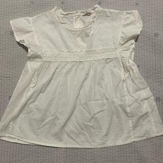 サマンサモスモス(SM2)のレースカットソー SM2(カットソー(半袖/袖なし))