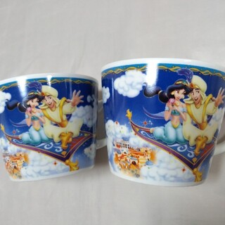 Disney - ディズニーリゾート アラジン ミッキー ミニー マグカップ