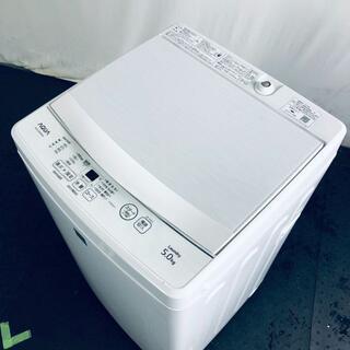 ★送料・設置無料★ 中古 中型洗濯機 アクア (No.1512)