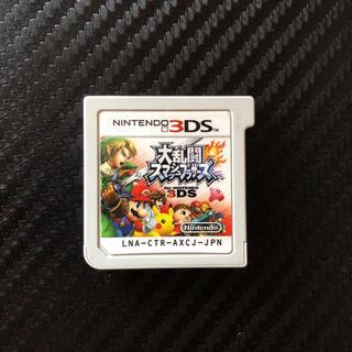 ニンテンドウ(任天堂)のスマブラ 3ds(携帯用ゲームソフト)