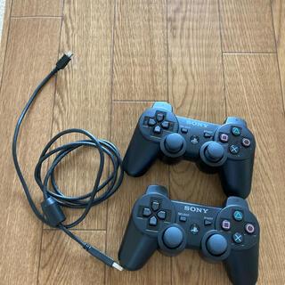 プレイステーション3(PlayStation3)の純正 PS3コントローラー   DUALSHOCK3  振動機能つき セット(その他)