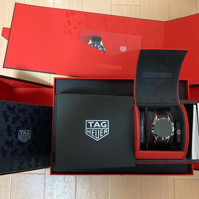 TAG Heuer(タグホイヤー)のがま様専用TAG HEUER マリオ 任天堂 コネクテッド 新品未使用 送料込 メンズの時計(腕時計(デジタル))の商品写真