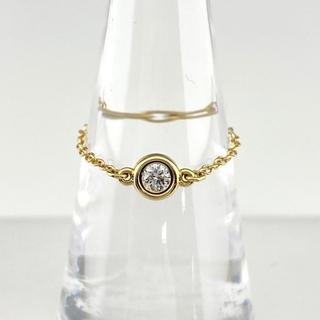 Tiffany & Co. - ティファニー バイザヤード リング 7号 YG 【中古】