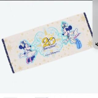 Disney - ディズニーシー20周年 フェイスタオル