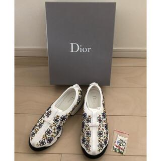 クリスチャンディオール(Christian Dior)のDIOR ディオール フュージョン ビジュー スニーカー(スニーカー)