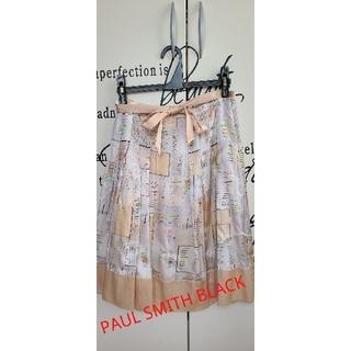 ポールスミス(Paul Smith)のPAUL SMITH BLACK フレアスカート(ひざ丈スカート)