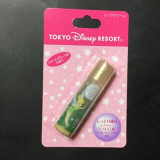 新品 Disney Resort 限定 ティンカーベル柄 リップクリーム