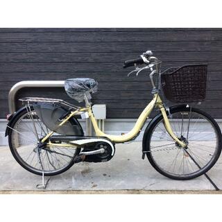 ヤマハ(ヤマハ)の地域限定送料無料 ナチュラ バッテリー新品 24インチ 黄色 神戸市 電動自転車(自転車本体)