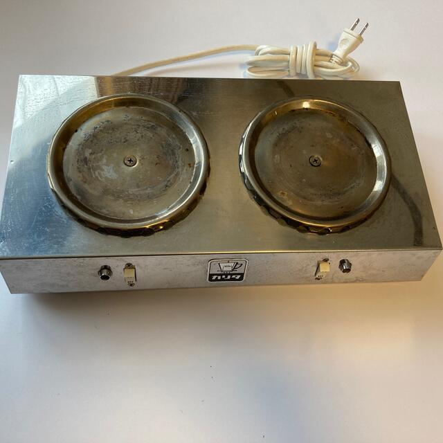 CARITA(カリタ)のカリタ 2連ウォーマー インテリア/住まい/日用品のキッチン/食器(調理道具/製菓道具)の商品写真