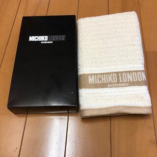 MICHIKO LONDON - MICHIKO LONDON フェイスタオル