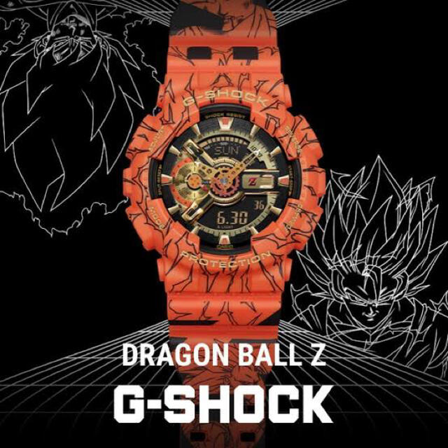G-SHOCK(ジーショック)のCASIO 腕時計 G-SHOCK ドラゴンボールZ メンズの時計(腕時計(デジタル))の商品写真
