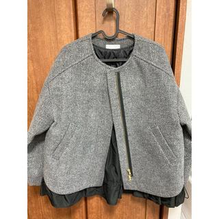 ドゥーズィエムクラス(DEUXIEME CLASSE)のtrois ショート丈コート(ノーカラージャケット)