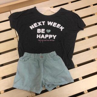 レピピアルマリオ(repipi armario)のレピピ Tシャツ ショートパンツ セット(Tシャツ/カットソー)