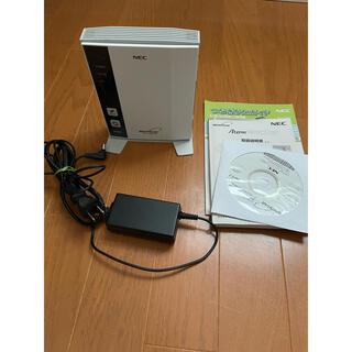 エヌイーシー(NEC)のATERM PA-WR8370N-ST wifi ルーター(PC周辺機器)