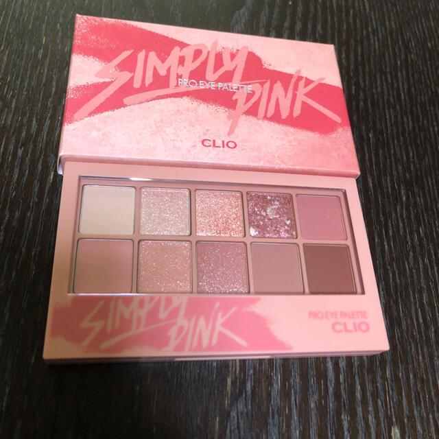 クリオ アイシャドウパレット 01シンプリーピンク コスメ/美容のベースメイク/化粧品(アイシャドウ)の商品写真